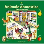 Animale domestice - Carte cu ferestruici