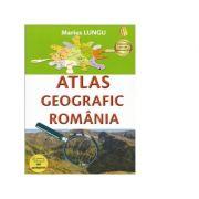Atlas geografic scolar Romania - Marius Lungu