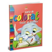 Carte de colorat invat sa desenez
