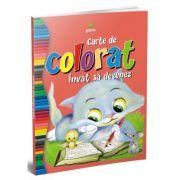 Carte de colorat invat sa desenez