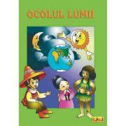 Carti de colorat A4 - Ocolul lumii