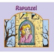 Carti pliante mari - Rapunzel