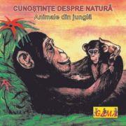 Carti pliante mici - Animale din jungla