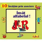 Carti pliate cu ferestre. Invatam prin asociere - Invat alfabetul! J - R
