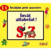 Carti pliate cu ferestre. Invatam prin asociere - Invat alfabetul! S - Z