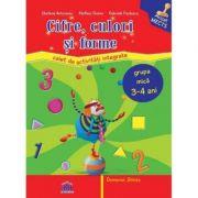 Cifre, culori si forme. Caiet de activitati. Grupa mica 3-4 ani - Stefania Antonovici, Gabriela Postescu