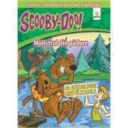 Citeste si lipeste cu ScoobyDoo! - Monstrul din padure