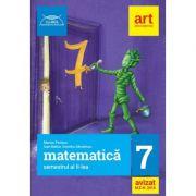 Clubul matematicienilor - Matematica pentru clasa a 7 - Semestrul al II-a. Avizat MEN 2018