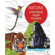 Coloreaza dupa numere. Natura - Duncan Smith