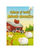 Colorez si invat - Animale domestice