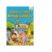 Colorez si invat - Animale salbatice