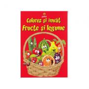 Colorez si invat - Fructe si legume