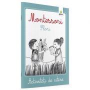 Flori. Activitati de citire Montessori
