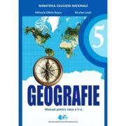 Geografie, manual pentru clasa a V-a - Mihaela Ofelia Rascu, Editura Didactica si pedagogica