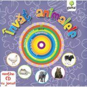 Invat animalele - Contine CD cu jocuri