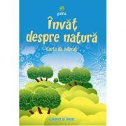 Invat despre natura - Carte de colorat A5