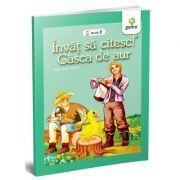 Invat sa citesc! Nivelul 1 - Gasca de aur - dupa Fratii Grimm
