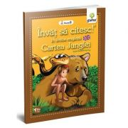 Invat sa citesc in limba engleza! Nivelul 3. Cartea Junglei - dupa Rudyard Kipling
