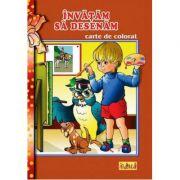 Invatam sa desenam - Carte de colorat A5