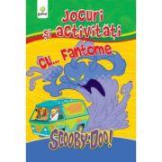 Jocuri si activitati cu ScoobyDoo! Carte de colorat cu... Fantome