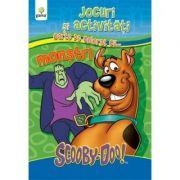 Jocuri si activitati cu ScoobyDoo! Carte de colorat cu... Monstri