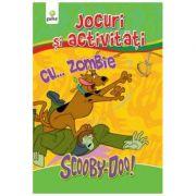 Jocuri si activitati cu ScoobyDoo! Carte de colorat cu... Zombie