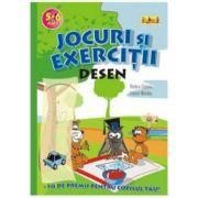 Jocuri si exercitii - Desen 5 - 6 ani - Rodica Cislariu, Lucica Nicolau
