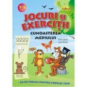 Jocuri si exercitii - Cunoasterea mediului 3 - 5 ani - Rodica Cislariu, Lucica Nicolau