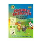 Jocuri si exercitii - Cunoasterea mediului 5 - 6 ani - Rodica Cislariu, Lucica Nicolau
