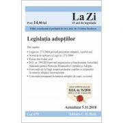 Legislatia adoptiilor. Cod 679. Actualizat la 5. 11. 2018