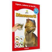 Lipesc, colorez si invat... - Dinozaurii