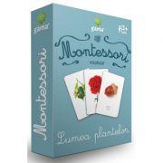 Lumea plantelor. Carti de joc Montessori