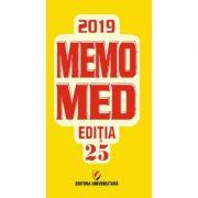 Memomed 2019. Editia 25 - Volumele 1 si 2 (Dumitru Dobrescu)