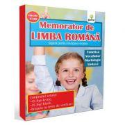 Memorator de limba romana: Fonetica, vocabular, morfologie, sintaxa. Suport pentru invatarea lectiilor - Claudia Benchea
