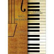 Mici melodii pentru vioara cu acompaniament de pian - Dumitru Bughici