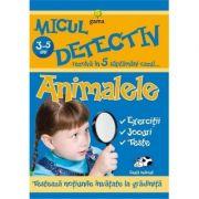 Micul detectiv rezolva in 5 saptamani cazul - Animalele