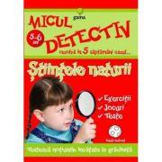 Micul detectiv rezolva in 5 saptamani cazul - Stiintele naturii