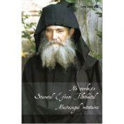 Ne vorbeste Staretul Efrem Filotheitul – Mestesugul mantuirii