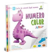 Numero Color. Junior Plus. Carte de colorat dupa numere