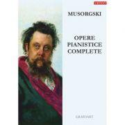 Opere pianistice complete - Modest Petrovici Musorgsky