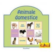 Pliante educative - Animale domestice