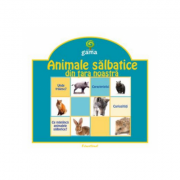 Pliante educative - Animale salbatice din tara noastra