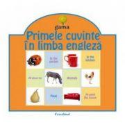 Pliante educative - Primele cuvinte in limba engleza