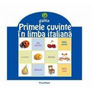 Pliante educative - Primele cuvinte in limba italiana