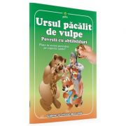 Povesti cu abtibilduri - Ursul pacalit de vulpe