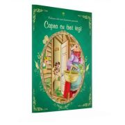 Povesti de citit si colorat - Capra cu trei iezi