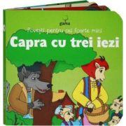 Povesti pentru cei foarte mici - Capra cu trei iezi