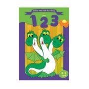 Prima mea carte de colorat - 1, 2, 3