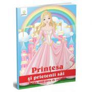 Prima mea carte de colorat - Printesa si prietenii sai