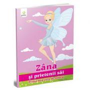 Prima mea carte de colorat - Zana si prietenii sai